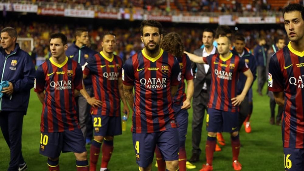 Барселона проиграла три матча подряд впервые за. - Социальное