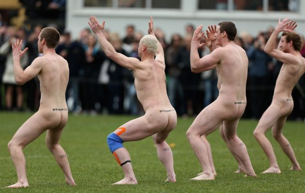 Initiation naked party rugby