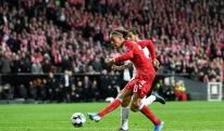 პოულსენმა დანიას შვეიცარიასთან გამარჯვება 84-წუთზე მოუპოვა [VIDEO]