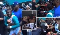 ცეცხლთან თამაში არ ღირს: ჯეიკ პოლმა მეივეზერს კეპი წაართვა, შემდეგ კი მაისური თავზე გადაახიეს და სათვალეც დაუმტვრიეს [VIDEO]