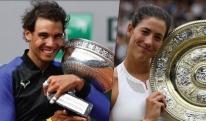 ჩოგბურთის საერთაშორისო ფედერაციამ რაფაელ ნადალი და გაბრინ მუგურუზა გამოარჩია