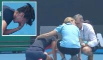 ხანძარმა Australian Open-მდეც მიაღწია - სერბმა გოგონამ თამაში ცუდი ჰაერის გამო ვერ განაგრძო [VIDEO]