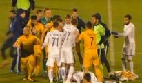 მასობრივი ჩხუბი რუსეთის ჩემპიონატში [VIDEO]