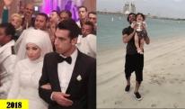 როგორ გამოიყურებოდა სალაჰი ქორწილში 2013 წელს და რატომ დაარქვა მან შვილს მაკა? [VIDEO+PHOTO]