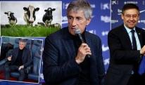 """""""ბარსელონას"""" ახალი მწვრთნელი: გუშინ ძროხებთან ვსეირნობდი, დღეს კი ვარსკვლავებს ვავარჯიშებ"""