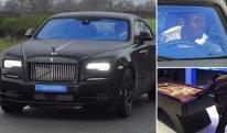 პოლ პოგბა ახალ Rolls Royce Wraith-ზე გადაჯდა