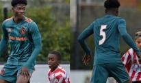 """""""აიაქსის"""" 14 წლის ფეხბურთელის სიმაღლემ საზოგადოება შოკში ჩააგდო [PHOTO]"""