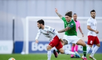 საქართველოსა და ირლანდიის მატჩის პირველი ტაიმი 0:0 დასრულდა