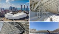 სკამები, აუდიოსისტემა, ტაბლოს კონსტრუქცია - ბათუმის სტადიონის მშენებლობა ბოლო ეტაპებისკენ მიდის [VIDEO]