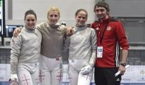 საქართველოს მოფარიკავე ქალთა ნაკრებმა ევროპის ჩემპიონატზე მე-14 ადგილი დაიკავა
