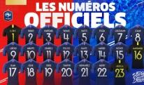 საფრანგეთი სამუნდიალოდ დაინომრა: გრიზმანი 7 ნომერია, პოგბა - 6